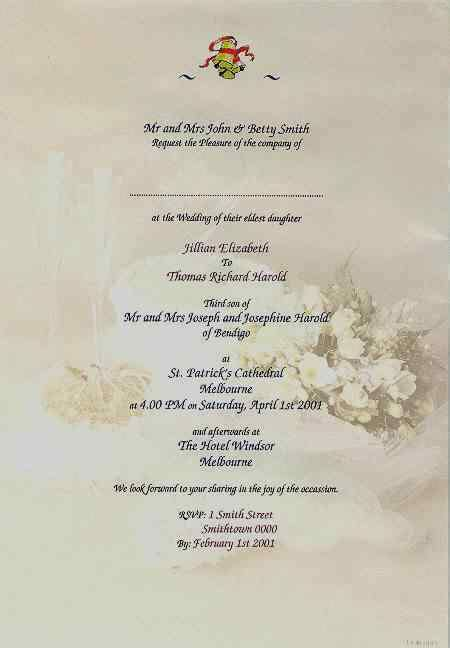 how to write wedding invitations what to write on wedding invitations archives the wedding specialists