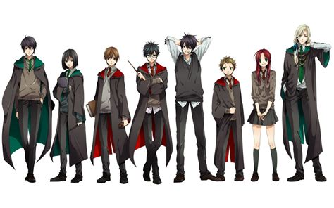 Anime Harry Potter Wallpaper - harry potter anime wallpaper 68 4k wallpapers