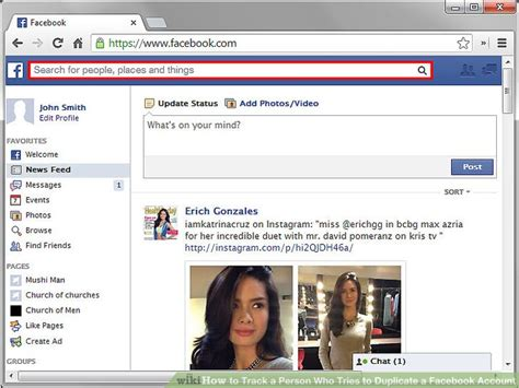 track  person    duplicate  facebook