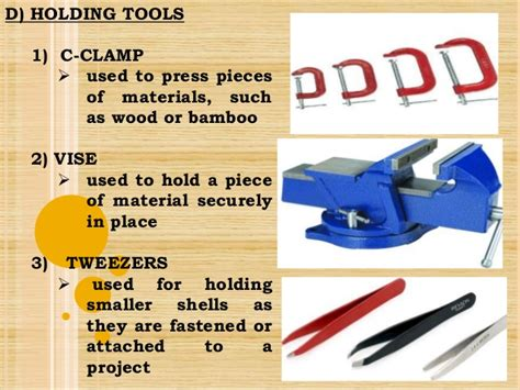 tools  equipment  handicrafts