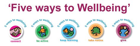 5 Ways To Wellbeing  Live Life Well