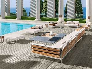 Lounge Gartenmöbel Holz : gartenm bel holz lounge rattan lounge safari nowaday garden ~ Indierocktalk.com Haus und Dekorationen