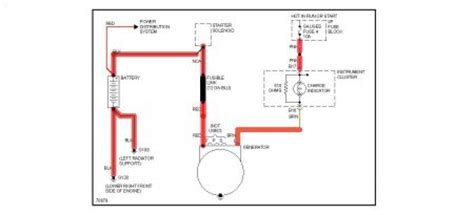 chevy astro alternator electrical problem  chevy