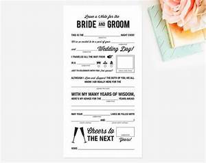 the 25 best wedding mad libs ideas on pinterest bridal With wedding advice cards funny printable
