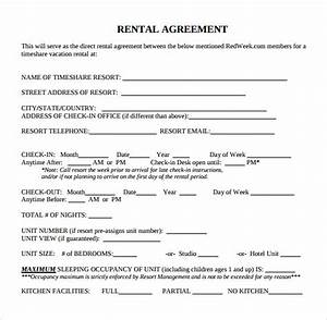 standard rental agreement 7 download free documents in With standard tenancy agreement template