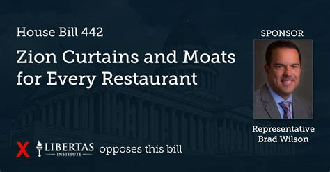 Zion Curtain Bill 2017 by Hb 442 Zion Curtains And Moats For Every Restaurant