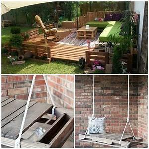 palettes bois meubles accessoires jardin accueil design With meuble jardin palette