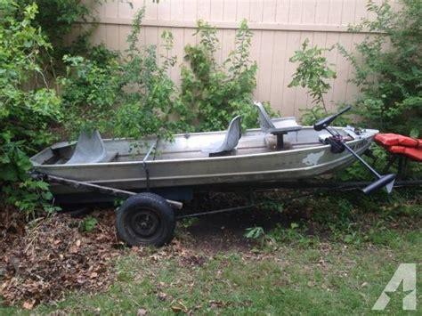 Aluminum Boats V Bottom by 14 V Bottom Aluminum Boat 14 Foot Boat In Ks