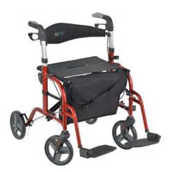 deals and reviews for lumex hybridlx rollator transport