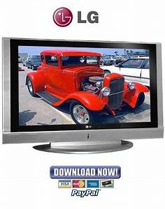 Lg 50pc1rr Plasma Tv Service Manual  U0026 Repair Guide