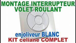 Interrupteur Volet Roulant : interrupteur volet roulant celiane 67601 enjoliveur blanc ~ Melissatoandfro.com Idées de Décoration