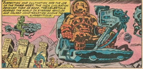 Cap'n's Comics: Best of Eternals #7 by Jack Kirby