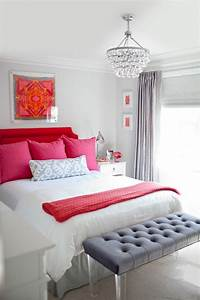 White and pink bedroom! Chambre blanche et rose   chambre ...