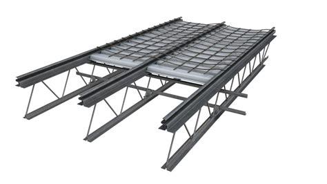Metal Floor Joist Bridging by Hambro Composite Floor System Canam Buildings