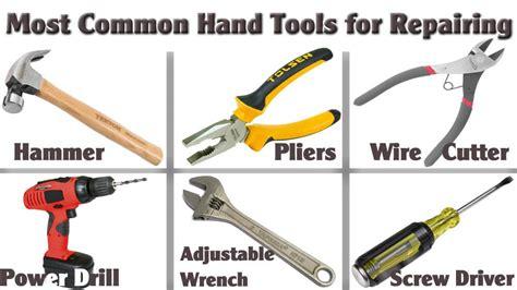 top   common hand tools  repairing