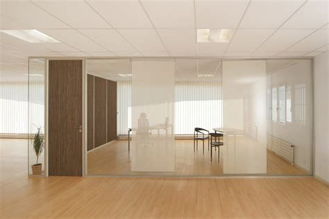 separation de bureau en verre cloison modulaire vitrée cloison de bureau en verre