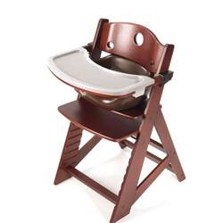 keekaroo height right high chair with infant insert tray