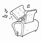 Toaster Drawing Cartoon Line Excavator Bulldozer Getdrawings Drawn sketch template