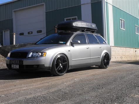 A4 Wagon Grey Black Nice Combo W Roof Rack  Audi & Vdub