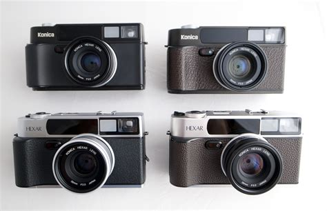 konica models the konica hexar af the quietest in the world