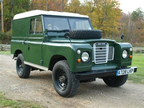 sell used 1983 land rover series iii pre defender in olmsted falls ohio united states
