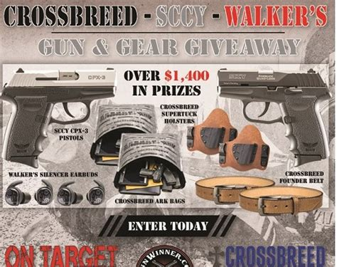 giveaway gun gear target magazine walker