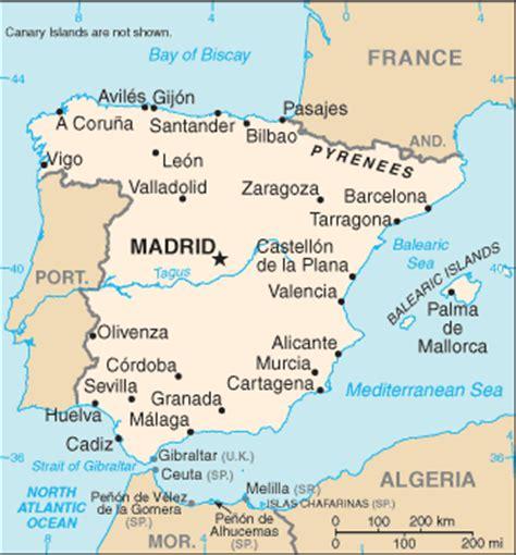spanien fläche europa auf einen blick spanien landesübersicht einwohnerzahl fläche landkarte
