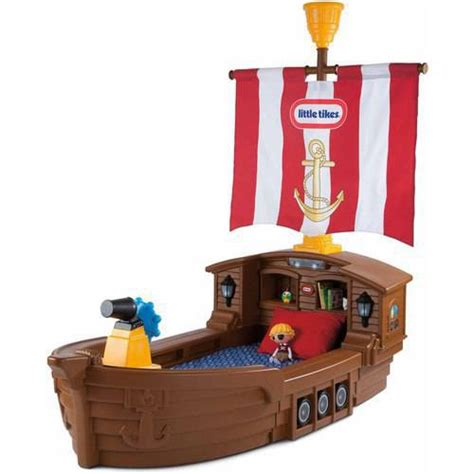 Tikes Pirate Ship Bed by Tikes Pirate Ship Toddler Bed Walmart