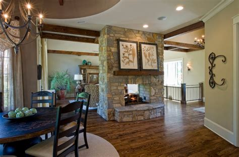southern living showcase home craftsman dining
