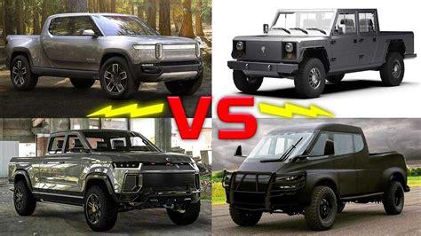 Electric Pickup Trucks Compared