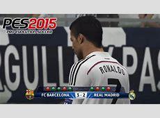 Penalty Shootout Barcelona vs Real Madrid PES 2015