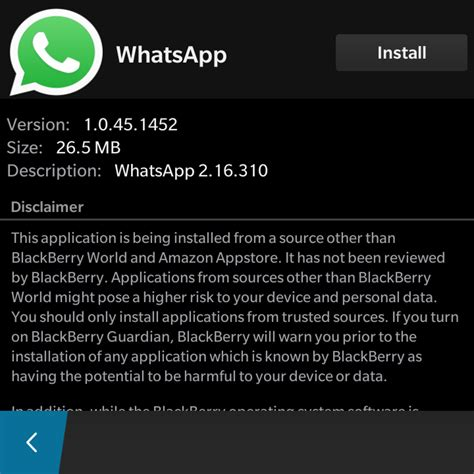 whatsapp for blackberry how to whatsapp on blackberry 10 pc advisor