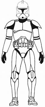 Coloring Clone Trooper Printable Related sketch template