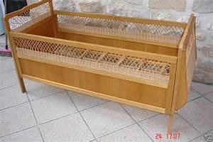 Lit Enfant Rotin : ancien lit enfant en rotin atelier darblay le meuble d 39 c t ~ Teatrodelosmanantiales.com Idées de Décoration