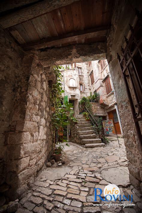 il centro storico  rovigno