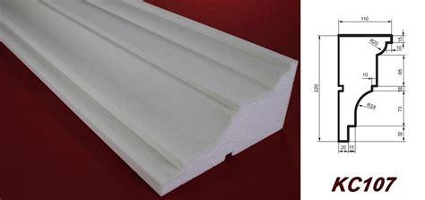 Baustoff Polystyrol Schnell Flexibel Und Leicht In Der Verarbeitung by 2 Meter Gesimsprofil Hausfassade Dekoration Sto 223