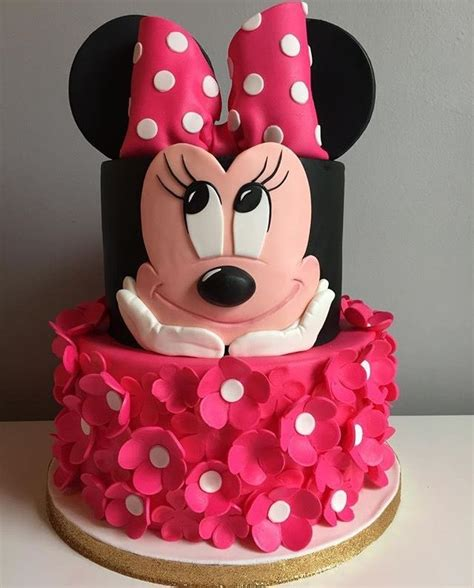 minnie mouse themed birthday cake minnie mouse birthday