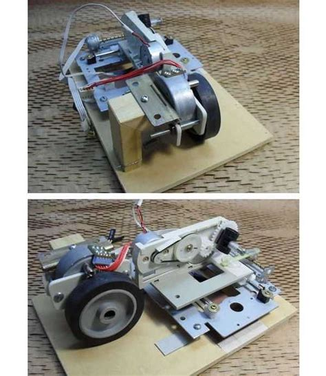 Computer Controlled Robot Project Rom Modification