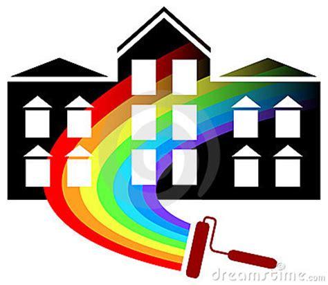 painting logo design stock photo image