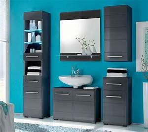 Badezimmer Hochschrank Mit Wäscheklappe : badezimmer hochschrank chrome seitenschrank mit 2 t ren grau metallic ~ Bigdaddyawards.com Haus und Dekorationen
