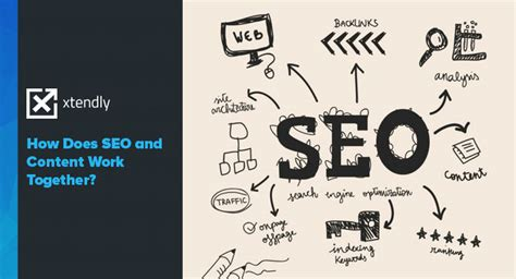 how does seo work how does seo and content work together xtendly
