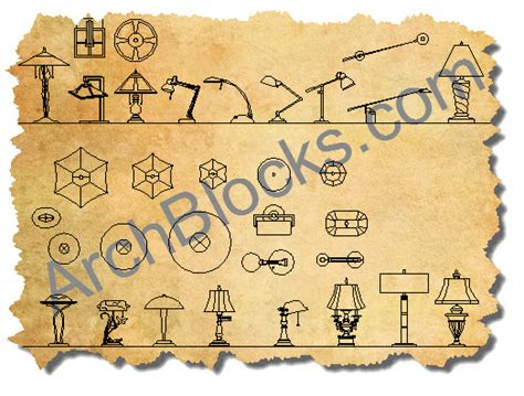 kitchen island electrical outlet autocad lighting blocks library cad l symbol