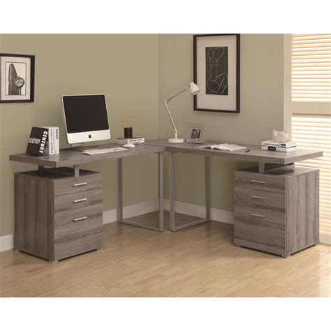 monarch specialties hollow core desk monarch specialties hollow core l shaped desk atg stores