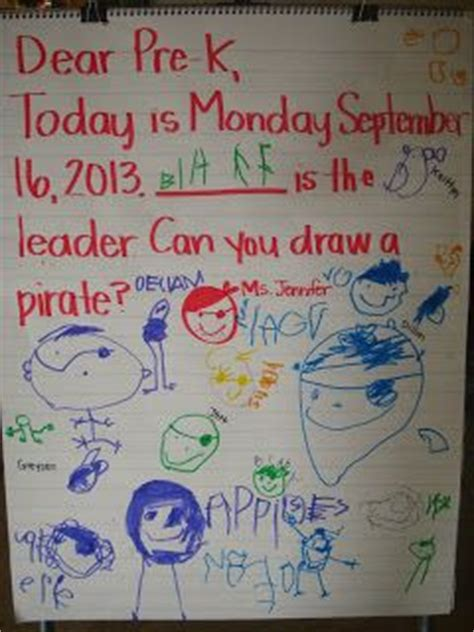 52 best images about pre k on pirate 151   3b52ca8866353344339770e59c66fdae preschool morning message pre k morning message