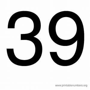 Printable Numbers 1