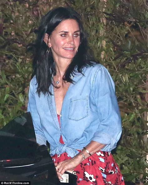 1500 square house fresh faced courteney cox at house in malibu