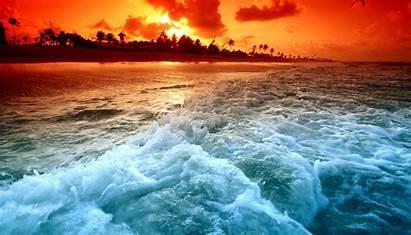 Ocean Sunset Amazing Definition Widescreen Wallpapers Desktop