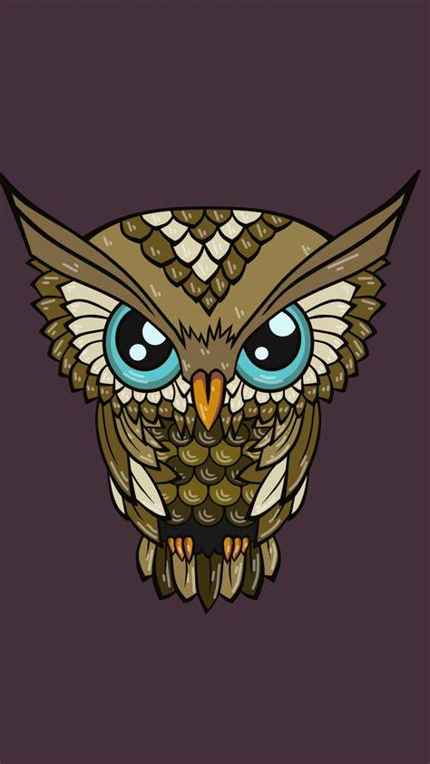 Cute Girly Owl Desktop Wallpaper 0 Comments