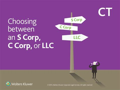 The Deck Company Llc Ceo by Choosing Between An S Corp C Corp And Llc