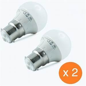 Ampoule Baionnette Led : energy led pack de 2 ampoules led ba onnettes b22 4 watt ~ Edinachiropracticcenter.com Idées de Décoration